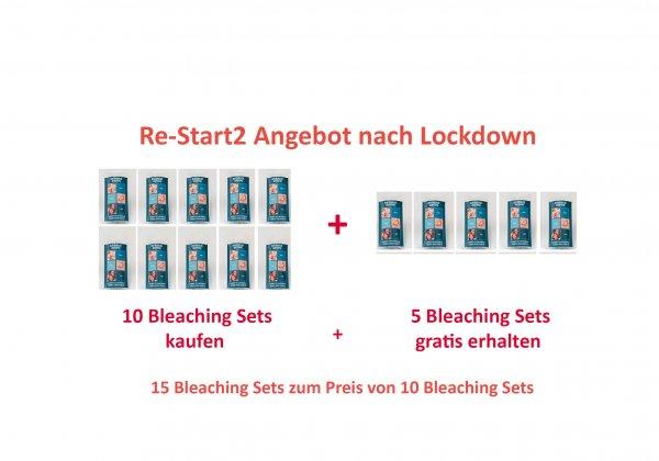 RE-START2 Angebot nach 4 Monaten Lockdown Bleaching Set